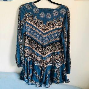 Free People Printed Tunic Dress